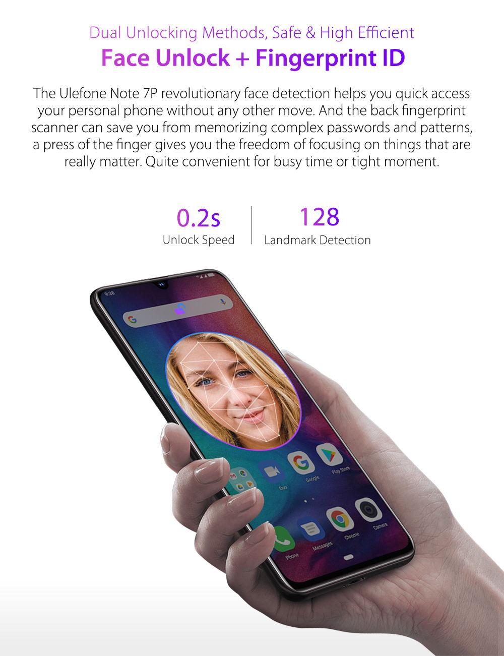 ulefone note 7p smartphone price