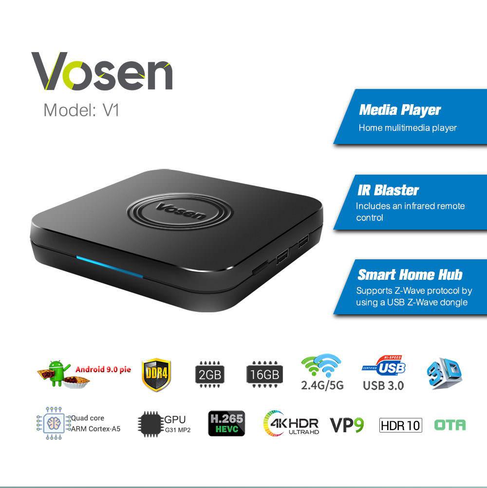 vosen v1 2gb 16gb tv box