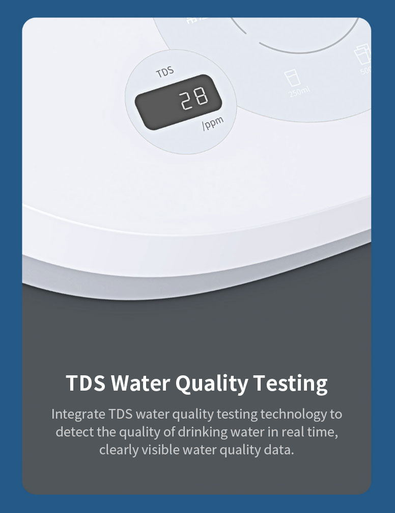 new xiaolang hd-jrssq01 tds heating water dispenser