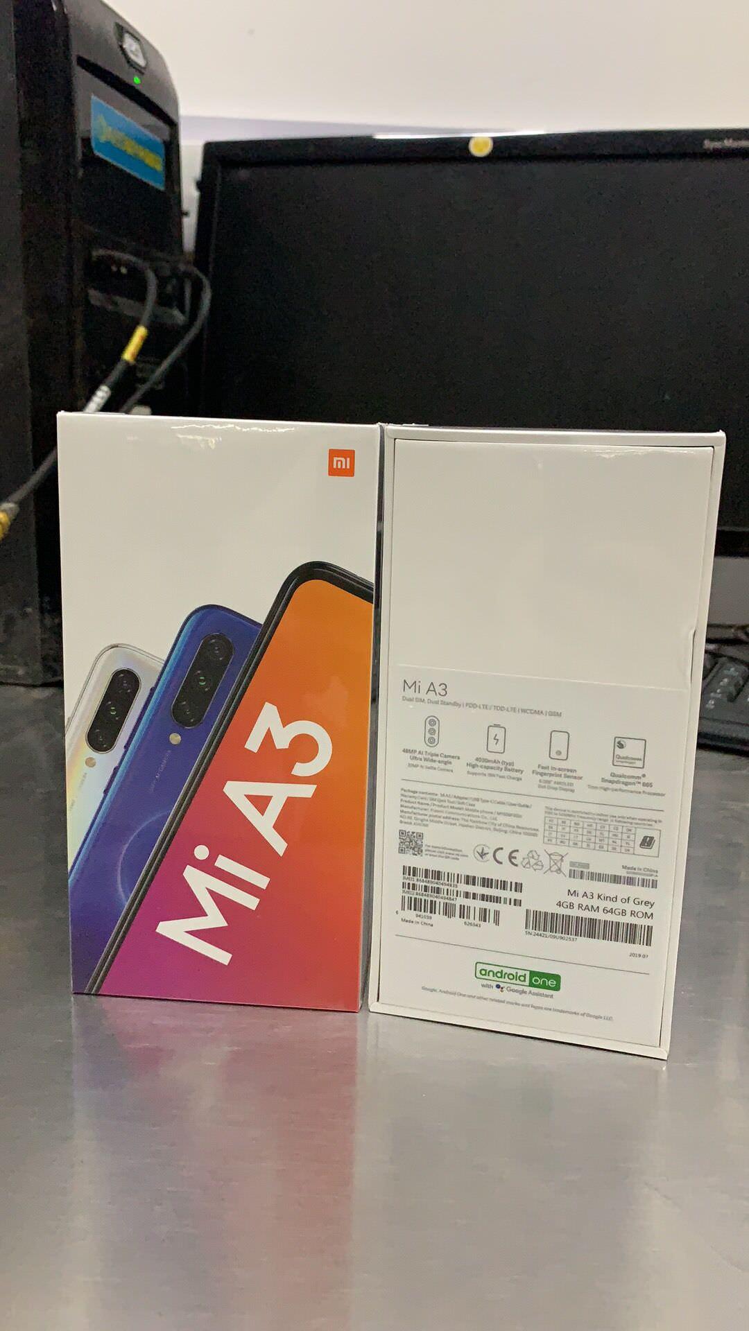 xiaomi mi a3 smartphone 4gb/64gb