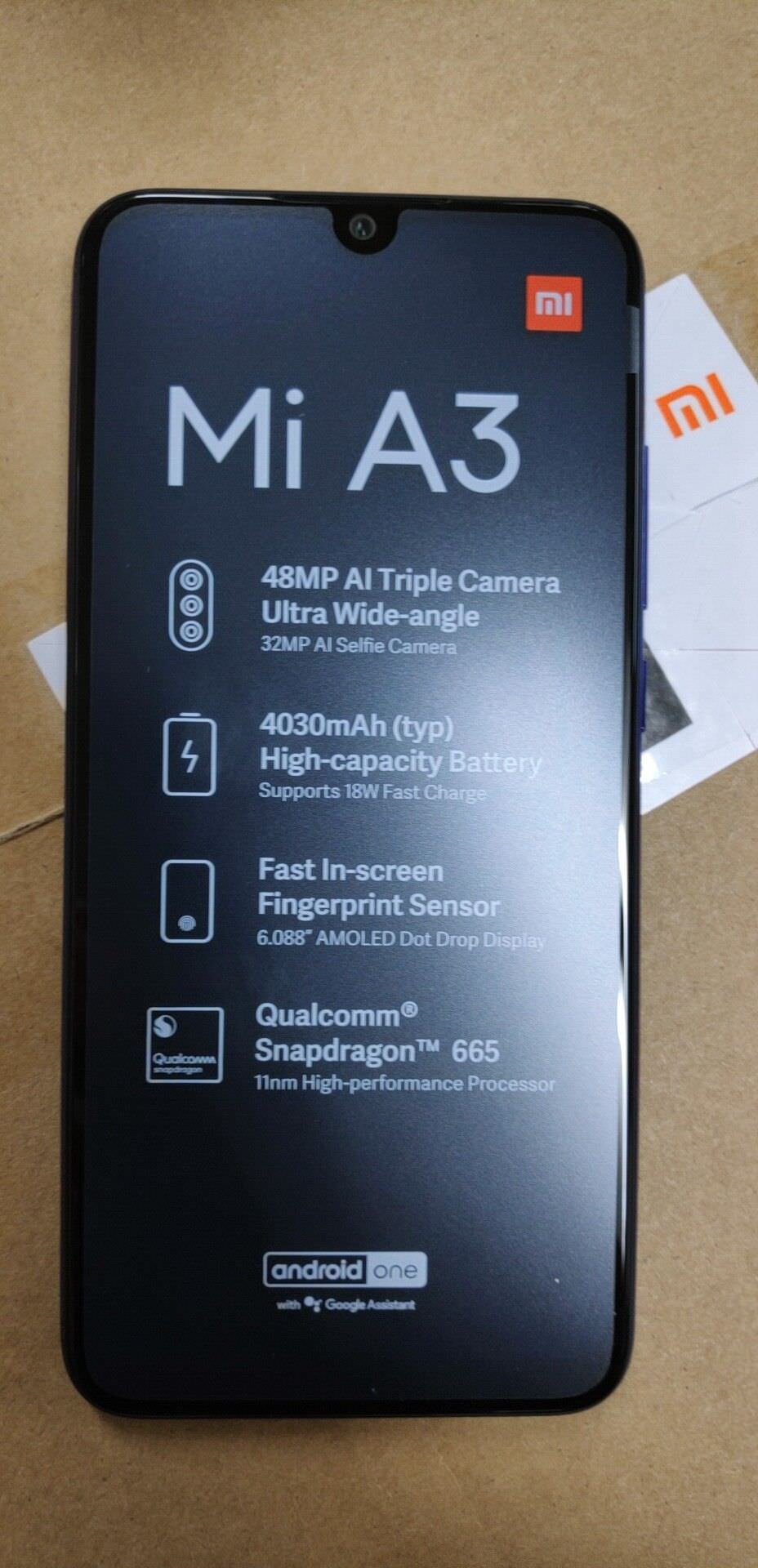 buy xiaomi mi a3 smartphone 4gb/64gb