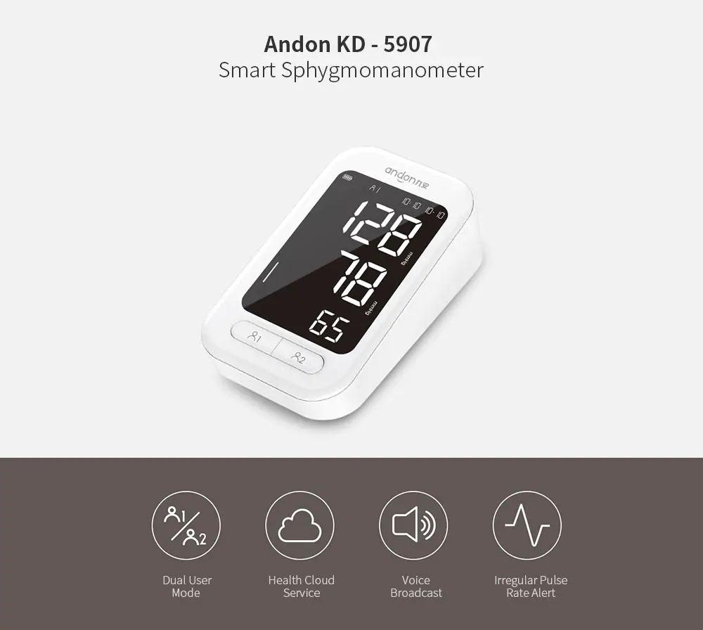 xiaomi andon kd-5907 smart sphygmomanometer