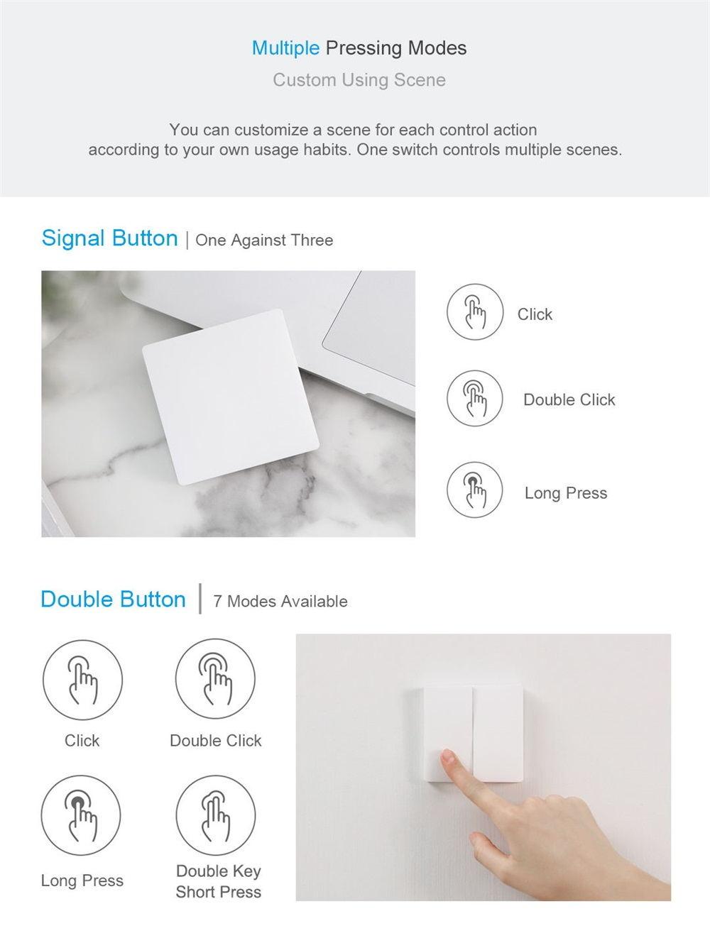 xiaomi aqara wireless control switch