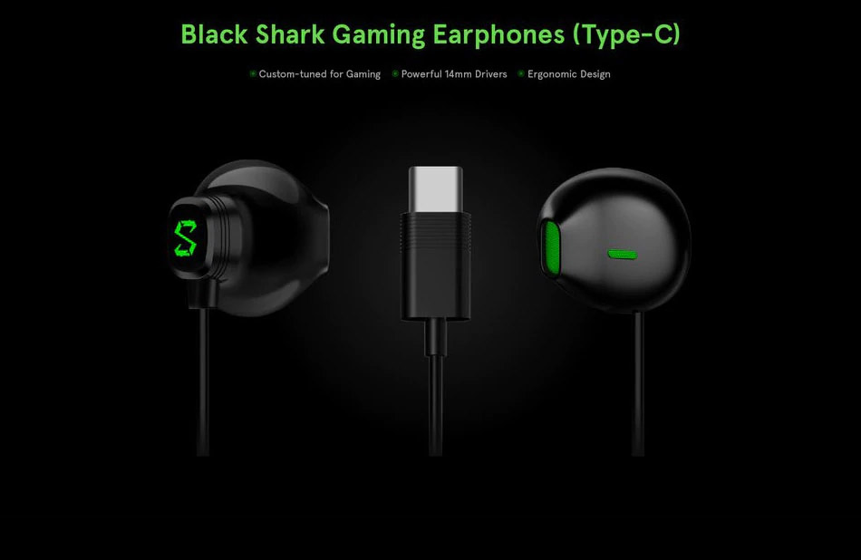 xiaomi black shark be07 earphones