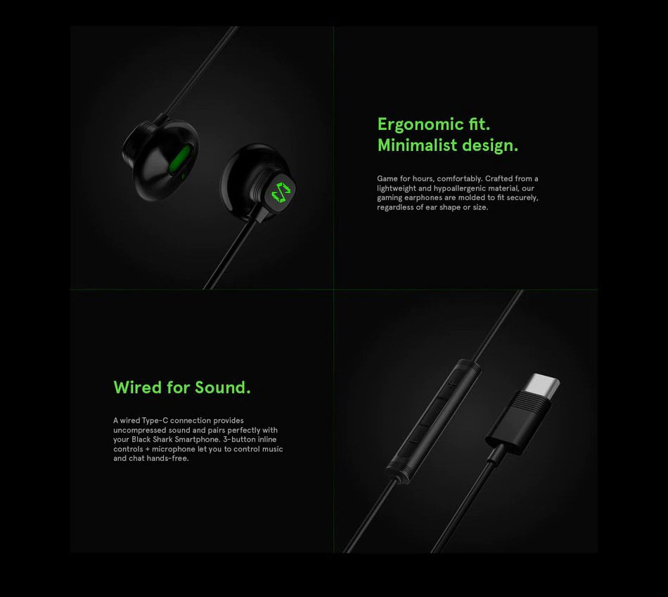 black shark be07 earphones