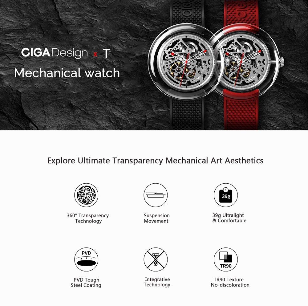 xiaomi ciga design t series mechanical watch
