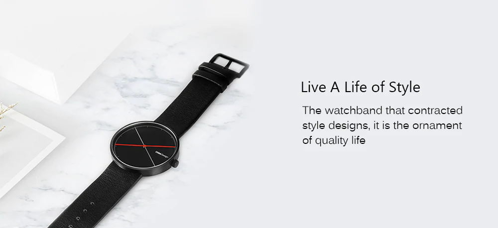 xiaomi ciga x series dual-needle quartz watch for sale