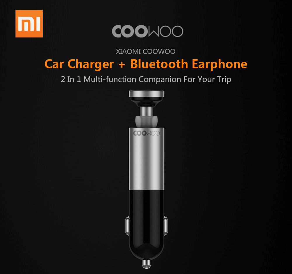 xiaomi coowoo bc200 earphone car charger
