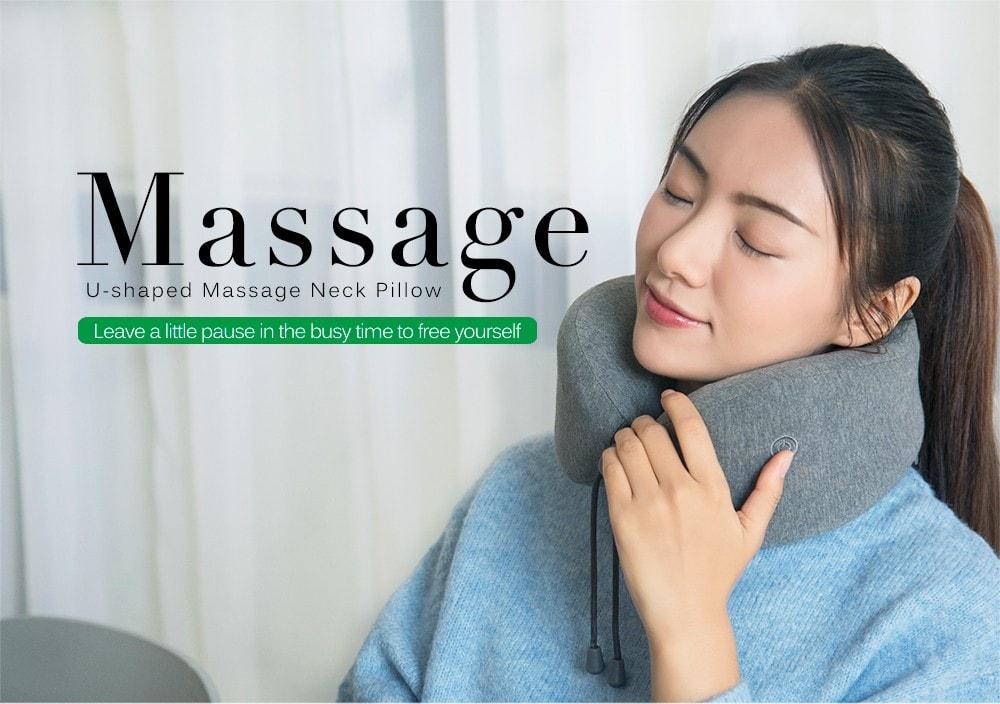 xiaomi leravan u-shaped massage neck pillow