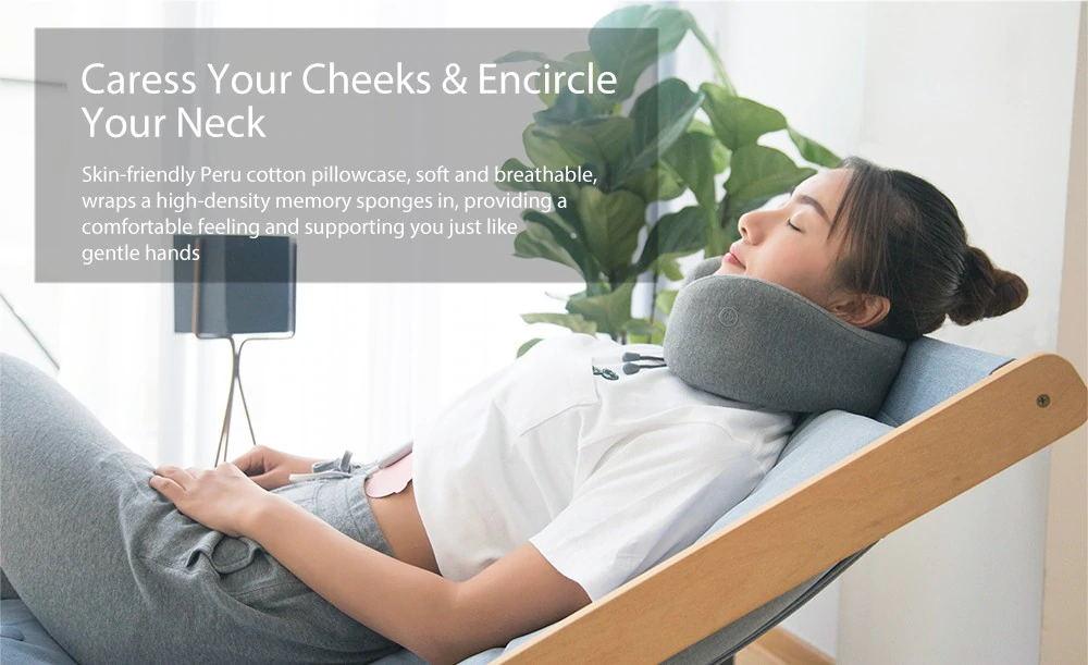 xiaomi leravan massage neck pillow review