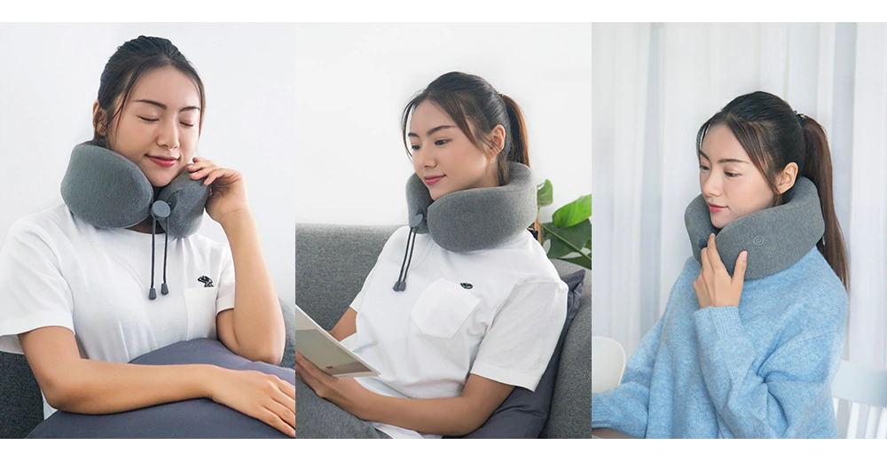 2019 xiaomi leravan u-shaped massage neck pillow