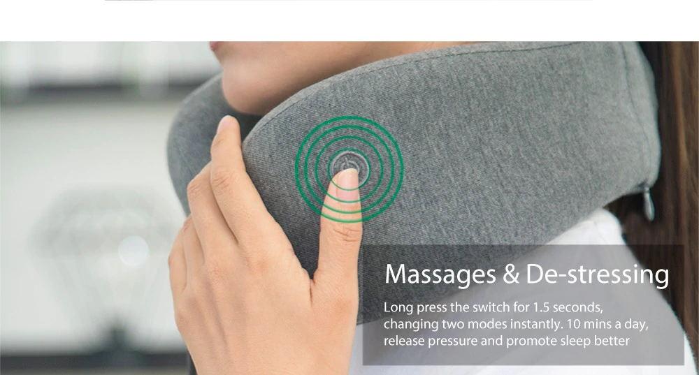 new xiaomi leravan massage neck pillow