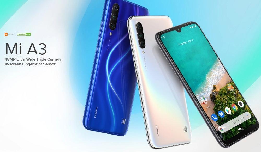 xiaomi mi a3 smartphone 4gb/128gb
