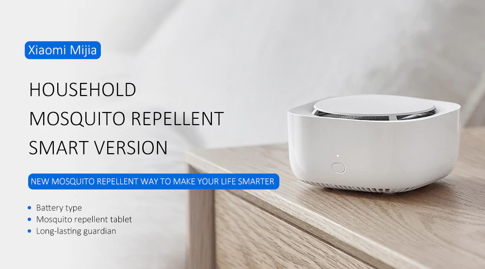 xiaomi mijia mosquito repellent device smart version