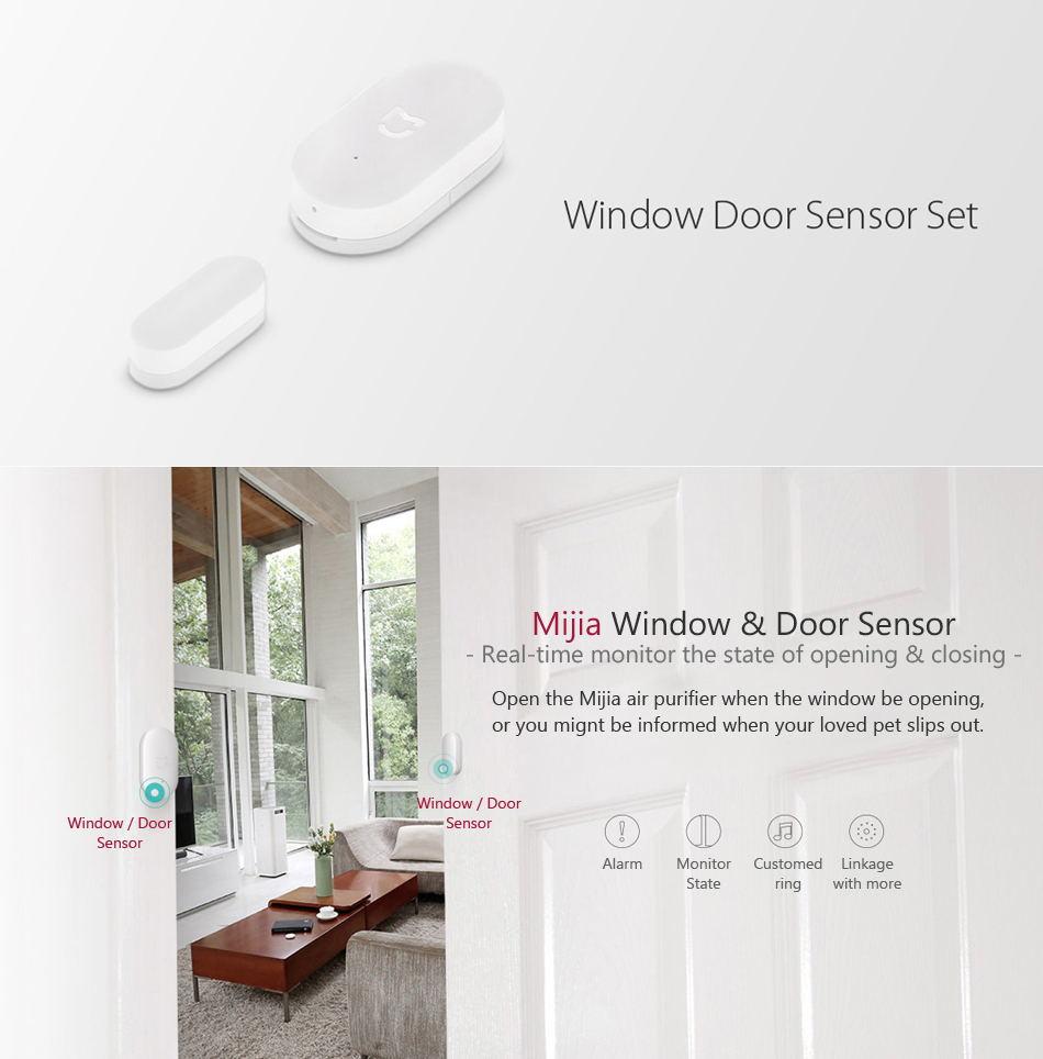 cheap xiaomi mijia 5 in 1 smart home security kit
