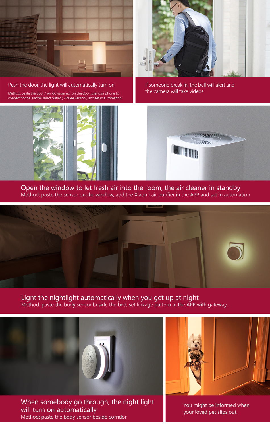 xiaomi mijia smart home security kit
