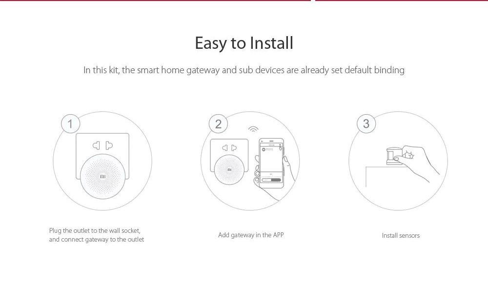 buy xiaomi mijia smart home security kit