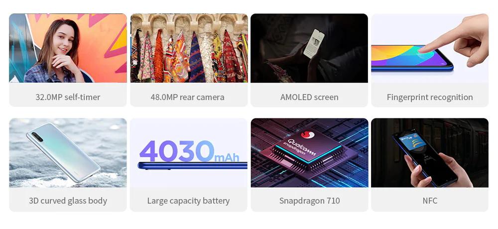 new xiaomi mi cc9 smartphone 6gb/64gb