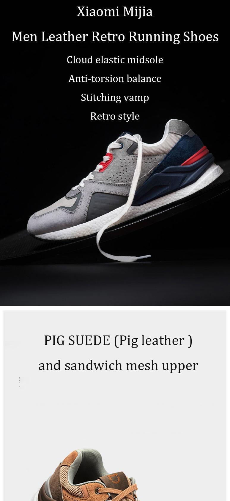 buy xiaomi mijia leather sneakers