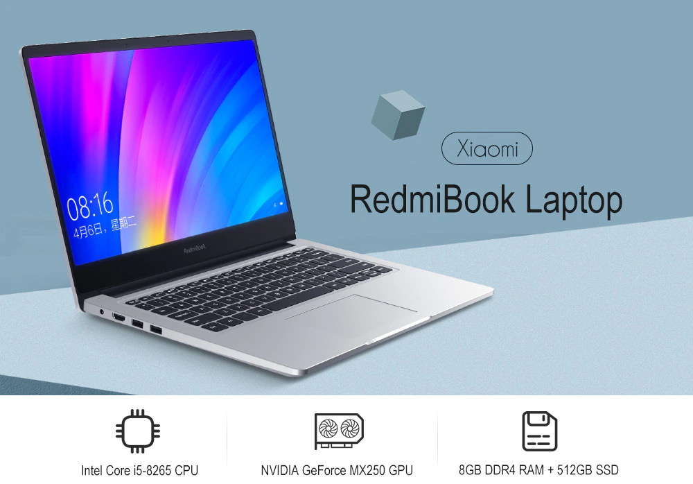 xiaomi redmibook laptop 8gb 512gb