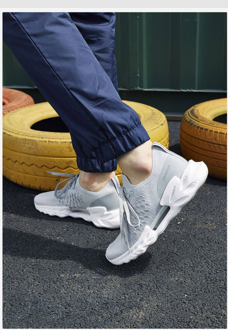 2019 xiaomi uleemark dragon scale patter sports running shoes