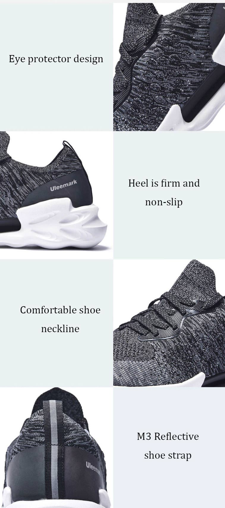 price xiaomi uleemark dragon scale patter sports running shoes