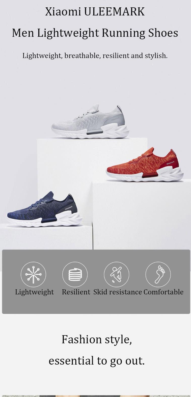 new xiaomi uleemark dragon scale pattern men sneakers