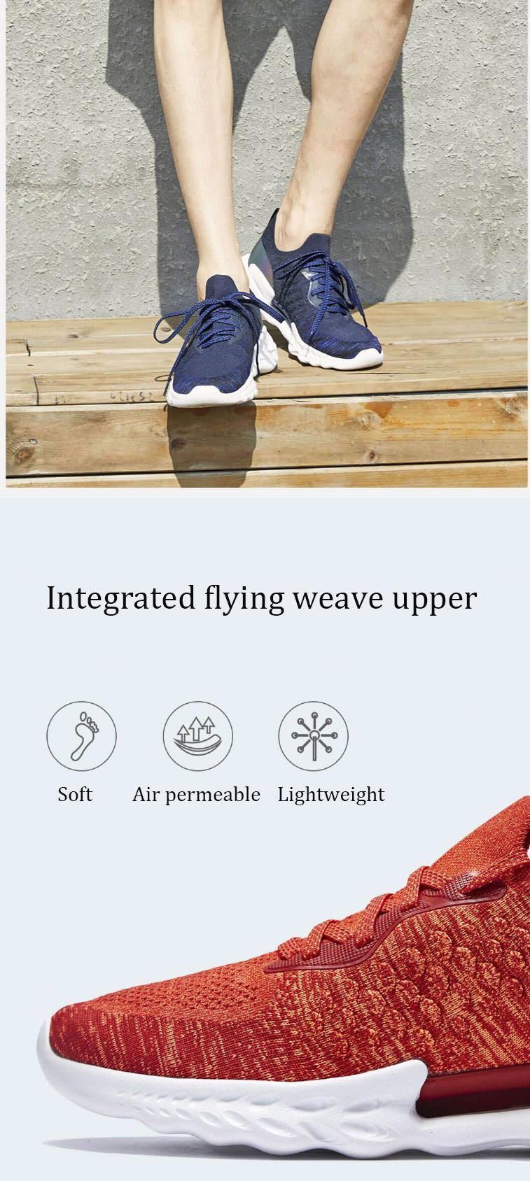 buy xiaomi uleemark dragon scale pattern men sneakers
