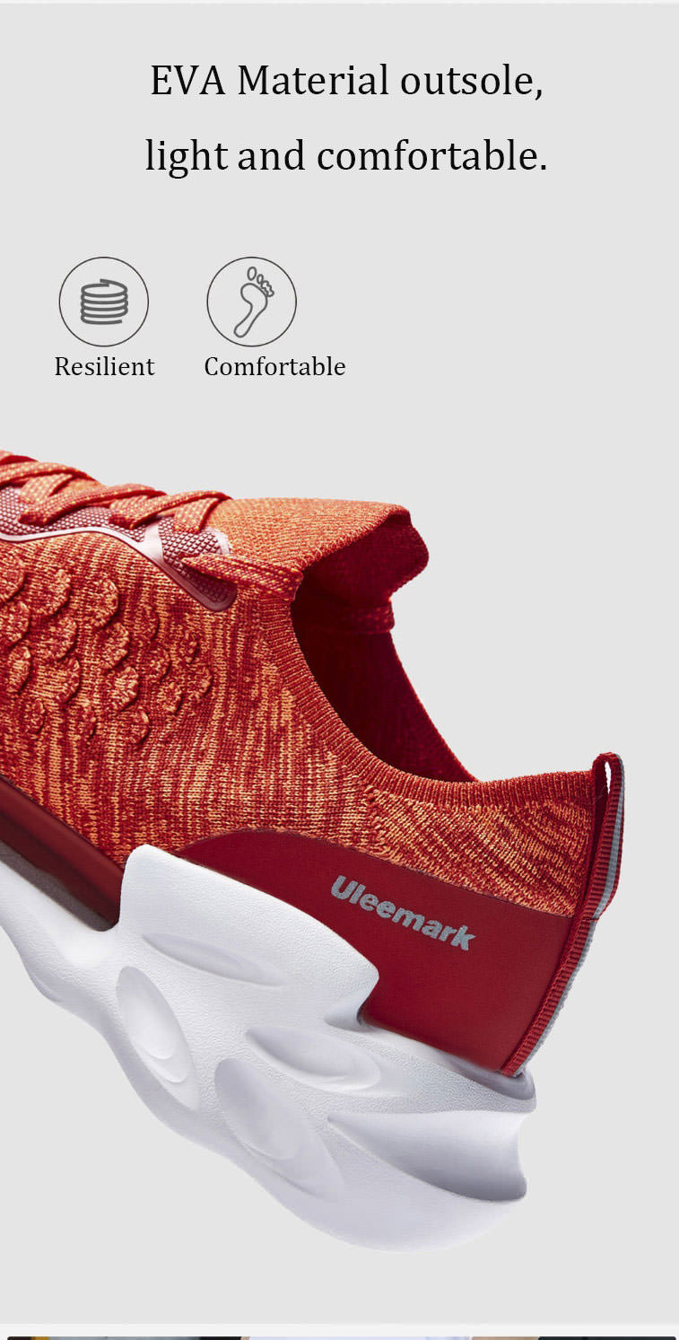 xiaomi uleemark dragon scale patter sports running shoes