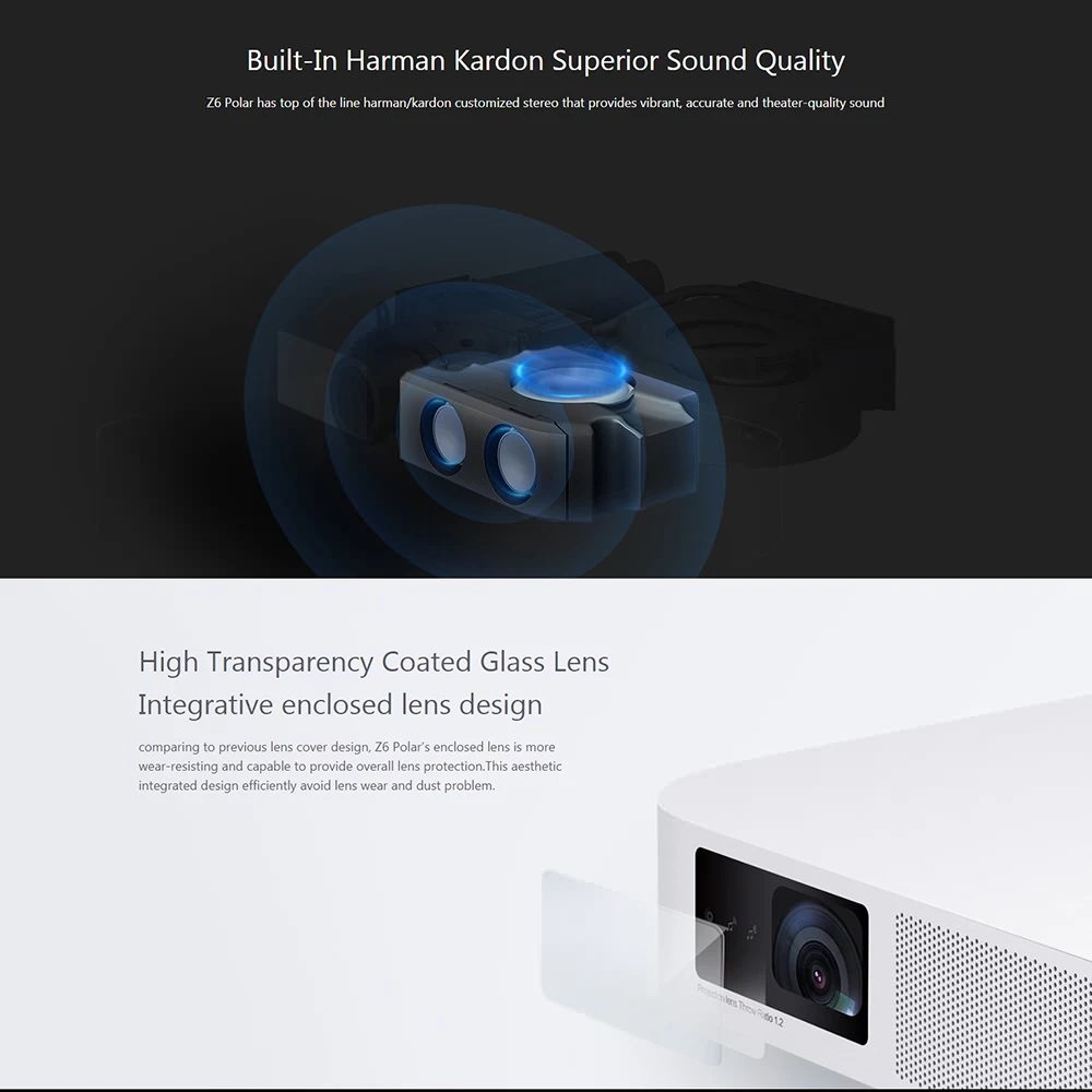 xiaomi xgimi z6 polar projector global version 2019