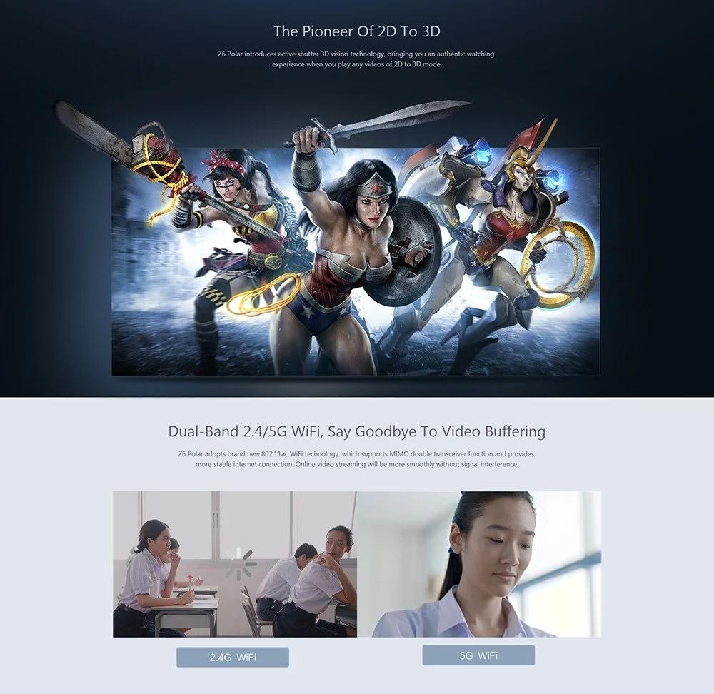 xiaomi xgimi z6 polar projector price