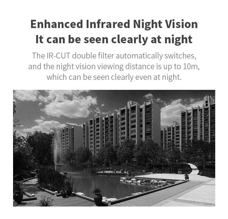 new xiaovv xvv-1120s-b1 smart panoramic camera