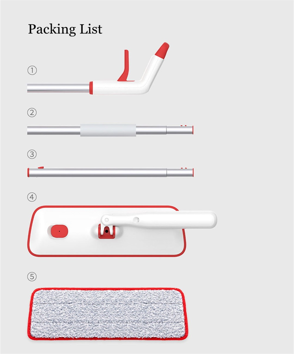xiaomi yijie flat spray mop online