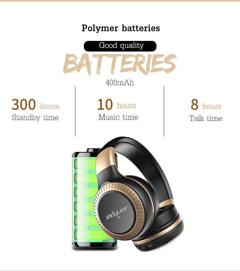 buy zealot b20 bluetooth headphone