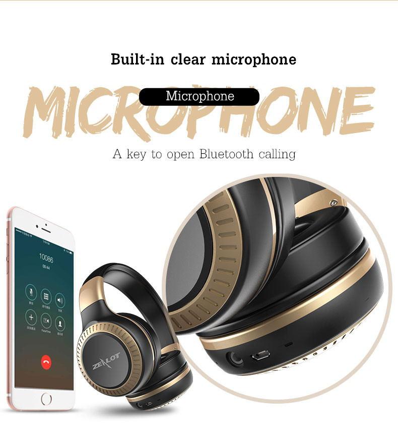 best zealot b20 bluetooth headphone