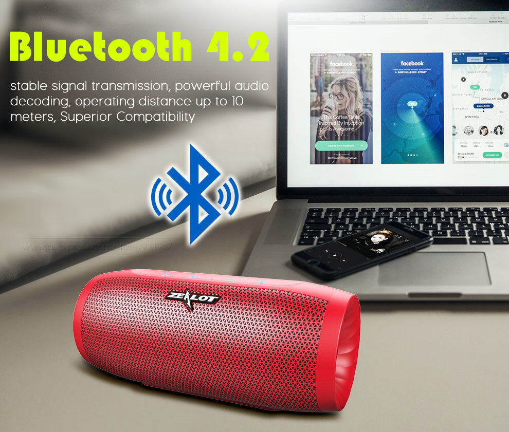 buy zealot s16 bluetooth speaker