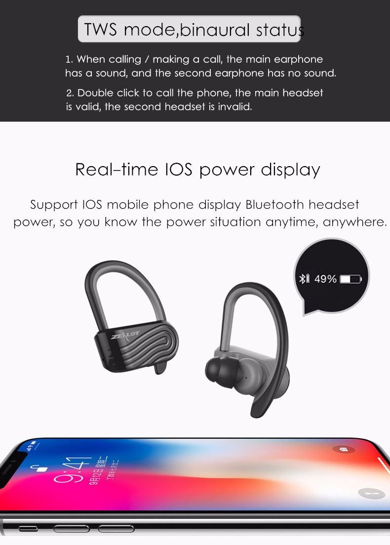 2019 zealot h10 earphones