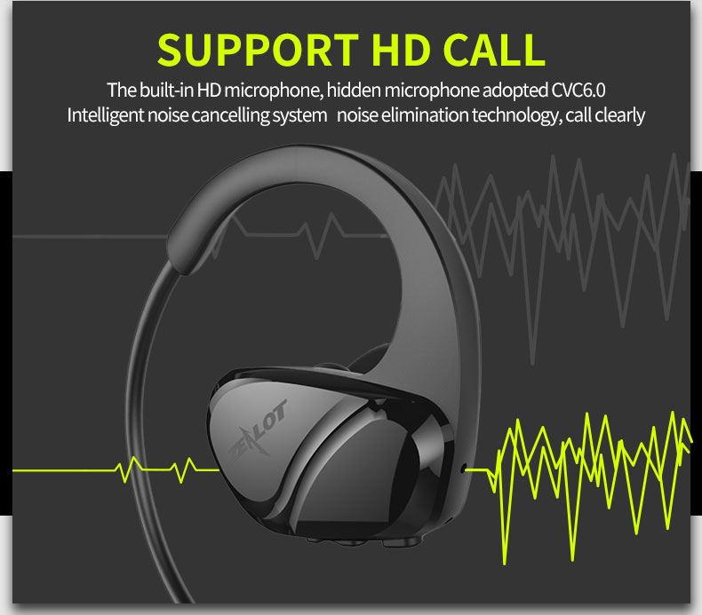 cheap zealot h6 bluetooth earphones