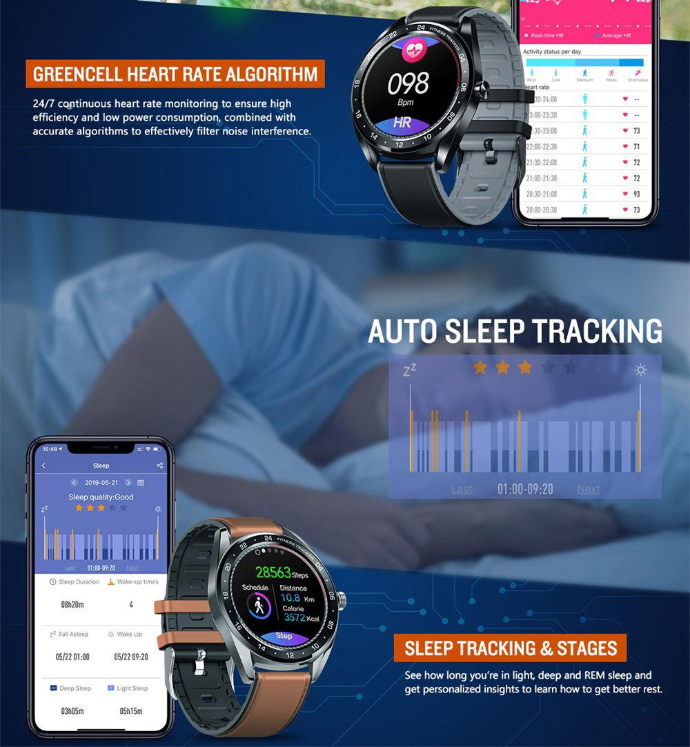 2019 zeblaze neo bluetooth smartwatch