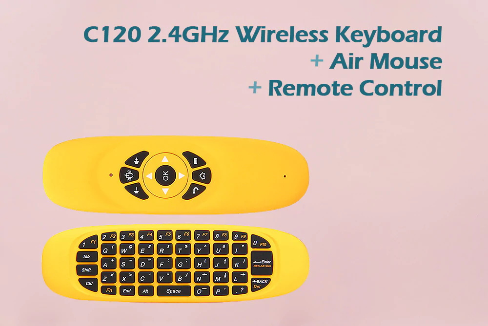 c120 all-in-one air mouse