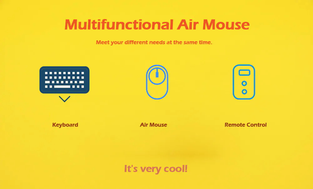 new c120 all-in-one air mouse
