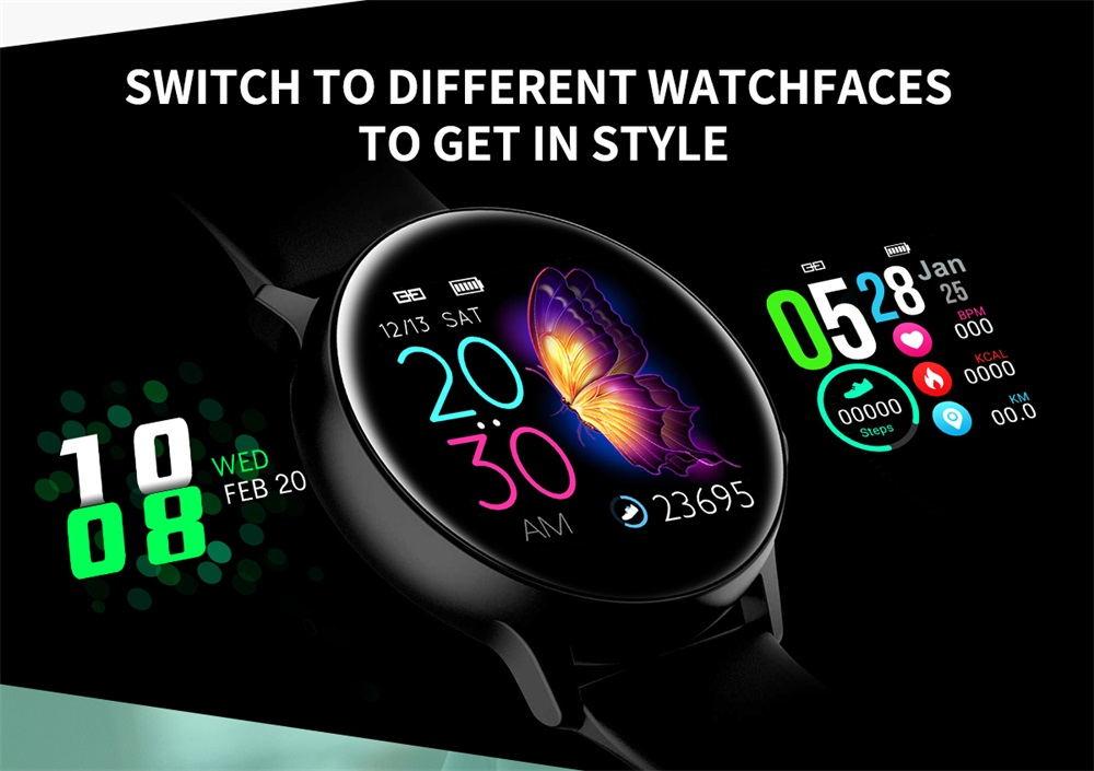 dt88 bluetooth smartwatch 2019