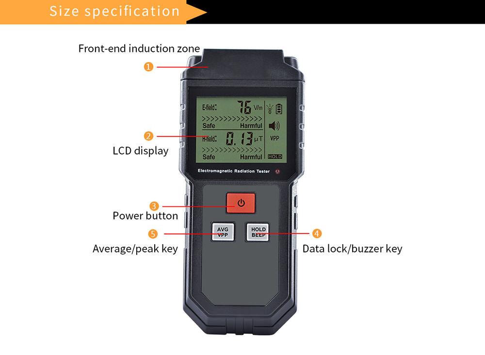new et825 electromagnetic detector