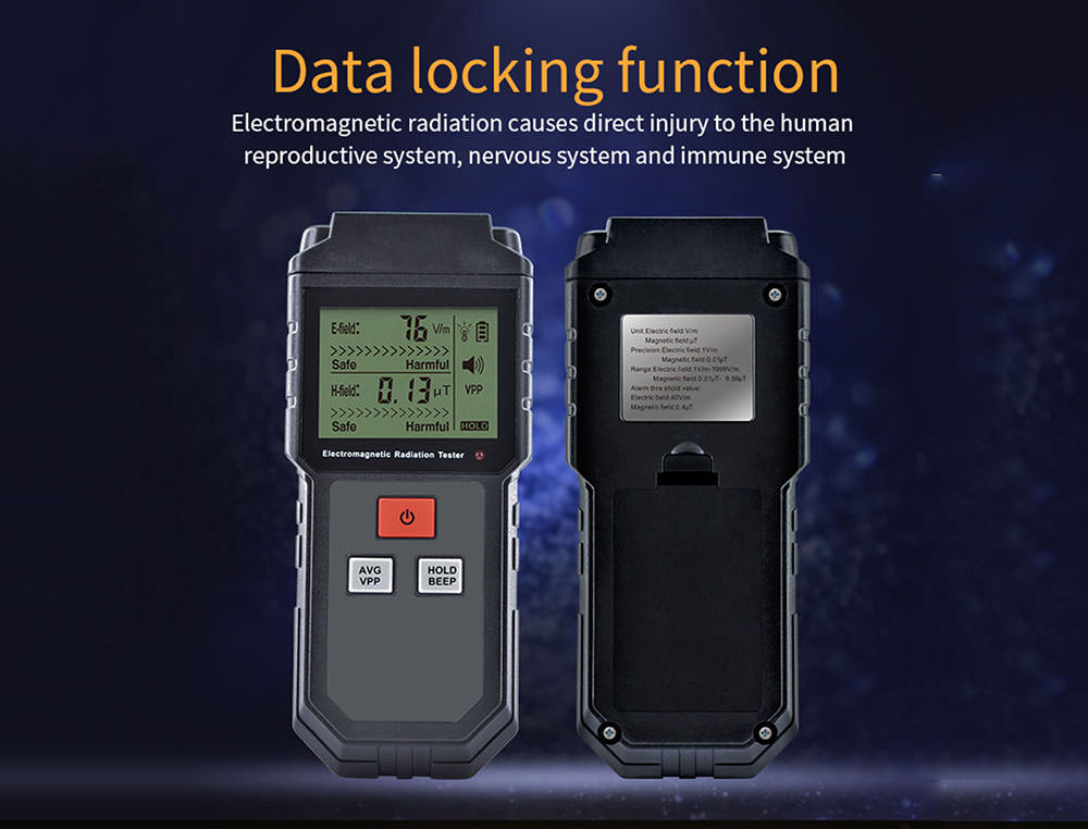 et825 electromagnetic detector 2019