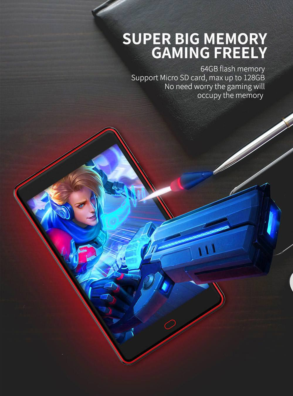new g6 pro gamepad tablet 64gb