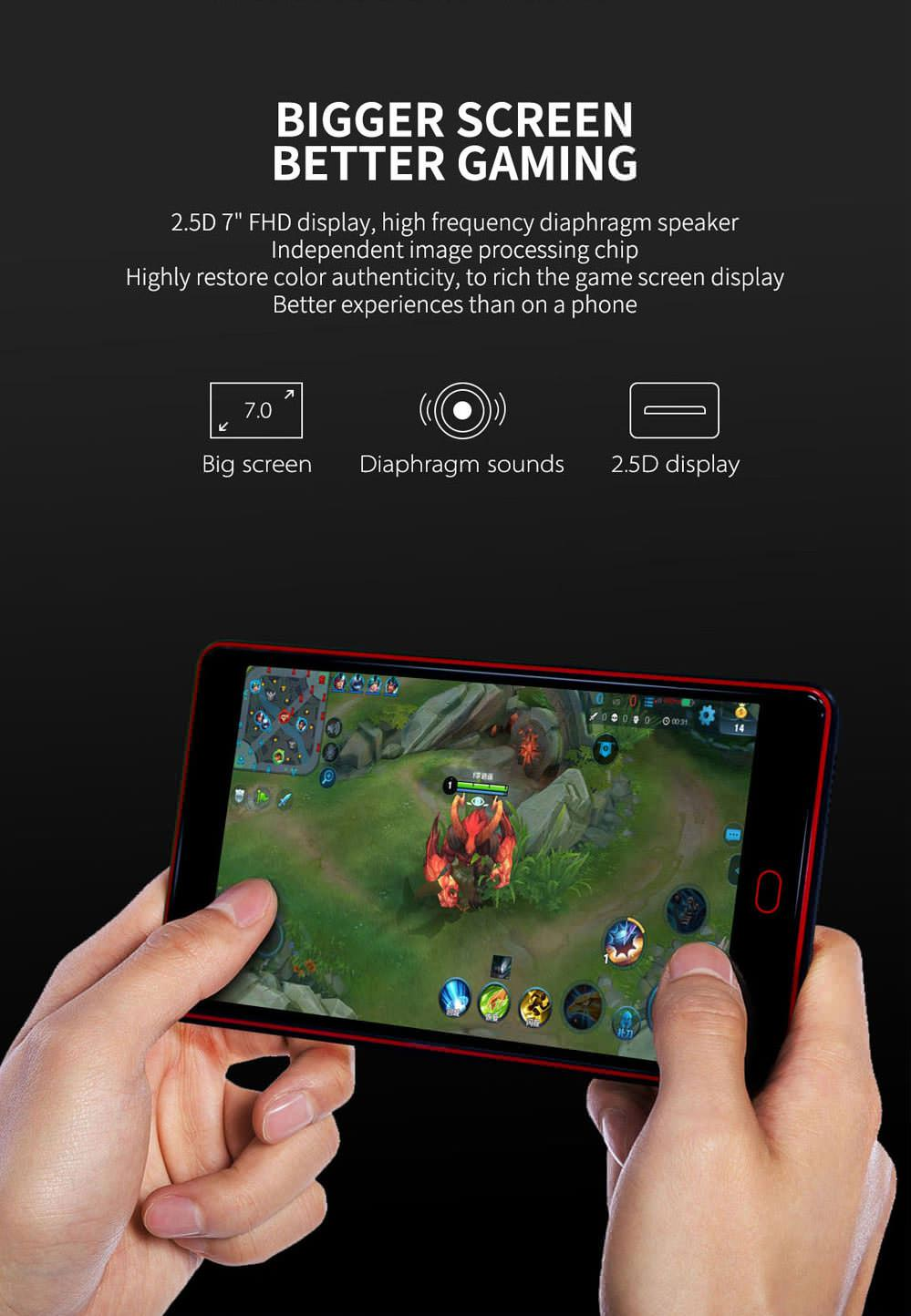 g6 pro gamepad tablet 4gb 64gb for sale