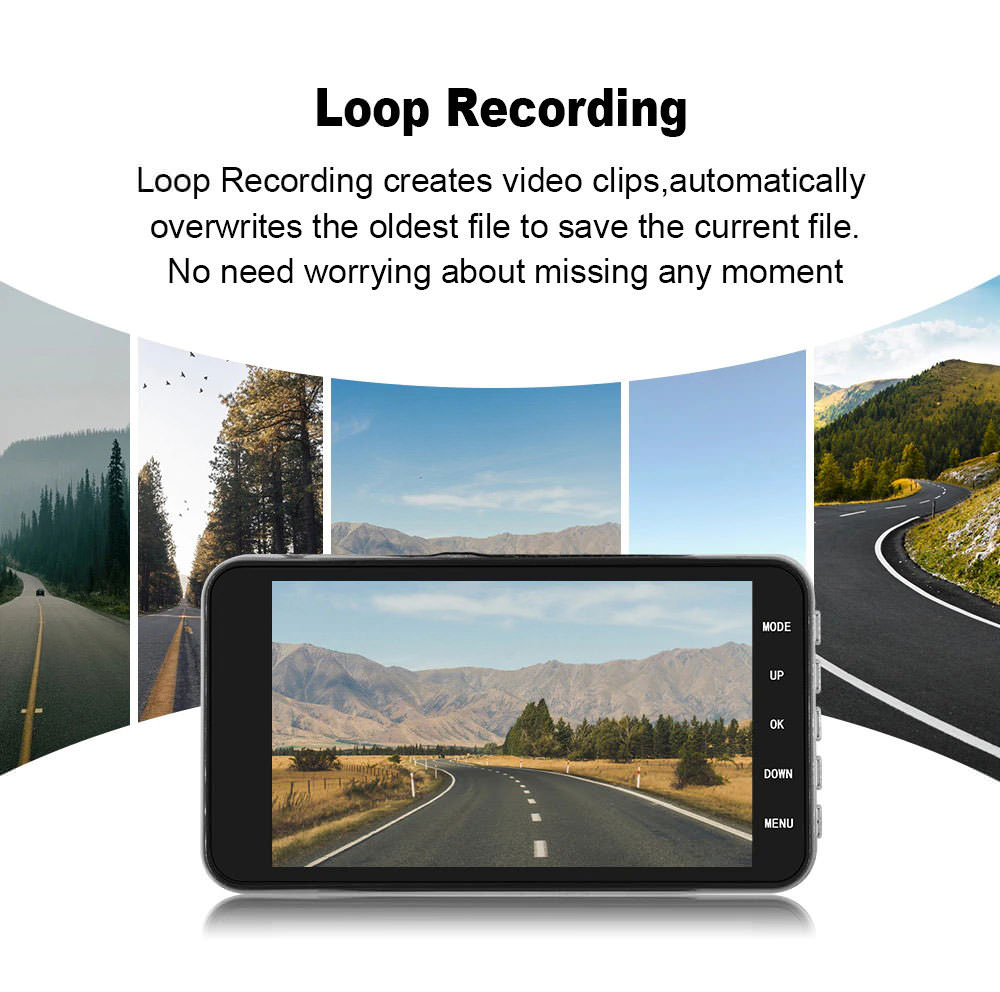 review gt29 car dvr driving recorder