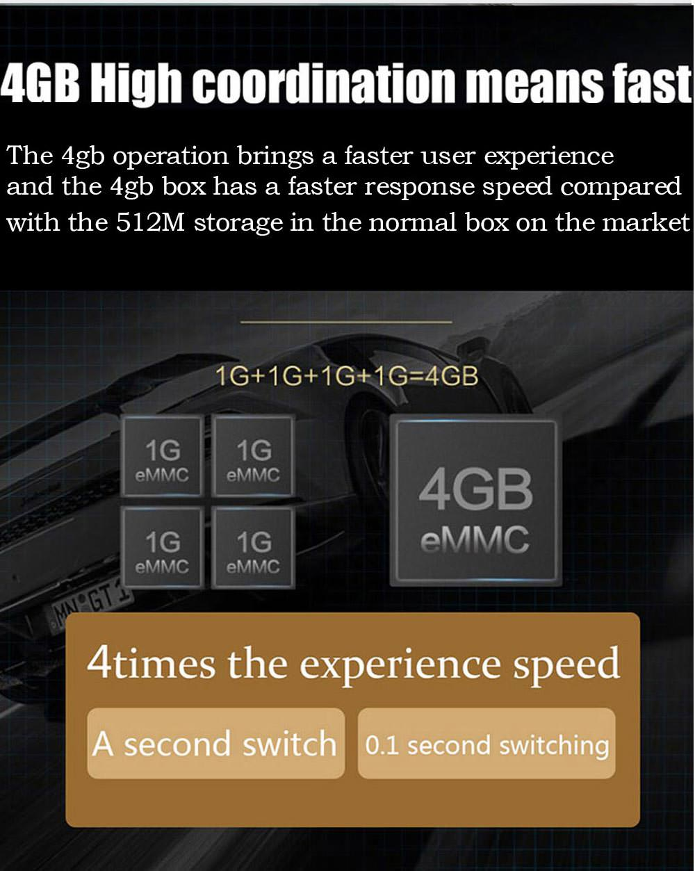 2019 h96 max+ tv box 4gb 32gb