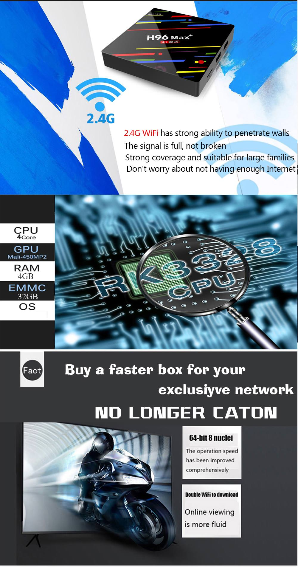 h96 max+ tv box 4gb 32gb price