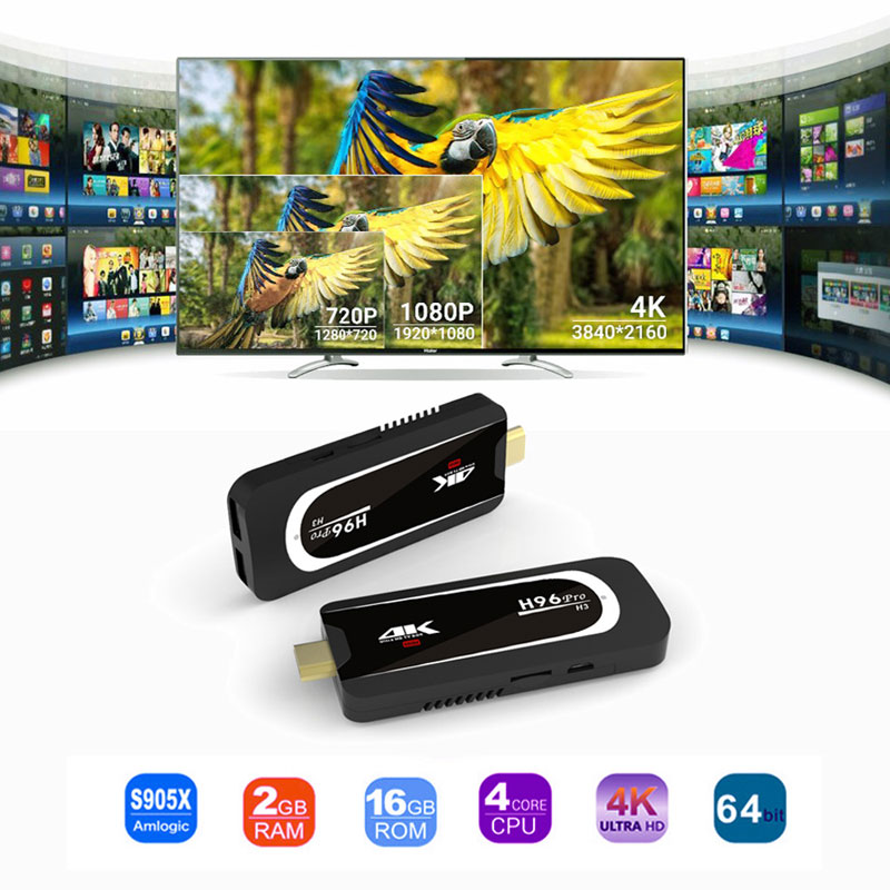 2019 h96 pro h3 tv stick 2gb 16gb